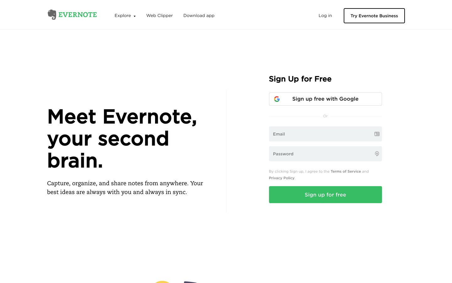 Evernote: Get organized. Work smarter. Remember everything.